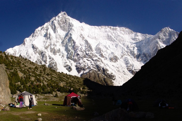 Click to view full size image  ==============  Nanga Parbat Trek 2009  Rupal side of Nanga Parbat